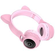 Tai nghe Blutooth Mèo Cao Cấp headphone Hoco W27 Đỉnh Cao Âm Thanh, Siêu Cute, Đáng Yêu, Âm thanh Chất - Hàng Chính Hãng thumbnail