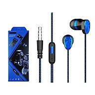 Tai nghe có dây nhét tai có mic Viniel IP10 Super Bass cho IPHONE IPAD SAMSUNG Android V60 - Hàng chính hãng thumbnail