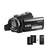 Máy Quay Video Kỹ Thuật Số Andoer HDV-201LM Ghi Âm DV Kèm 2 Pin (24MP 16X Zoom) (3.0 inch) (1080P FHD) thumbnail