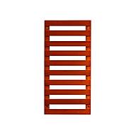 Giá kệ gỗ trang trí treo cây cảnh và đồ vật treo ban công ngoài trời hoặc trong nhà bằng gỗ Tre tự nhiên Chống cong vênh,mối mọt - Màu đỏ sáng thumbnail