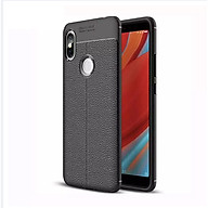 Ốp lưng điện thoại Xiaomi Not 6 Pro silicone vân da auto - Chính hãng thumbnail