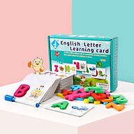 Thẻ giáo dục sớm 3D - English Flash Card cho trẻ từ 3 tuổi thumbnail