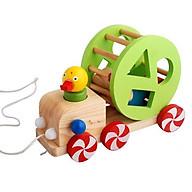 Xe vịt thả hình - Đồ chơi giáo dục an toàn cho bé thumbnail