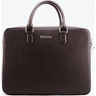 Cặp Da Nam Da Bò Cao Cấp Màu Nâu WT Leather 0981.1 thumbnail