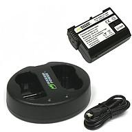 Bộ pin 01 pin Li-on + sạc Wasabi EN-EL15 Nikon - Hàng chính hãng thumbnail