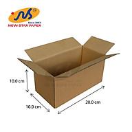 20x10x10 - Combo 10 thùng giấy carton gói hàng thumbnail