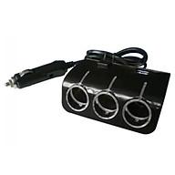 Bộ Chia 3 Tẩu 12v-24v 2 Cổng Sạc USB SPW03 thumbnail