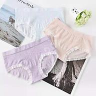 Hộp 5 quần lót nữ xuất Nhật - Kháng khuẩn tốt - Trộn màu ngẫu nhiên -Freesize thumbnail