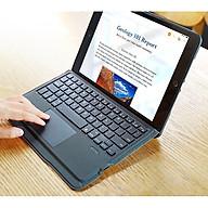 Bao da iPad 10.2 inch kèm bàn phím bluetooth có bàn di chuột Magic Keyboard TouchPad chính hãng Ducis thumbnail