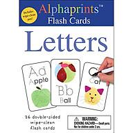 Alphaprints Wipe Clean Flash Cards Letters thumbnail