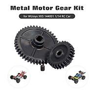 For WLtoys XKS 144001 1 14 RC Car Metal Motor Gear Kit Spur Gear Main Gear 49T 27T thumbnail