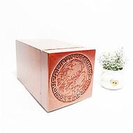 Hộp đựng trà gỗ - làm từ gỗ hương , họa tiết tinh xảo UK WOOD thumbnail