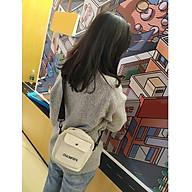 Túi Đeo Chéo Vải Tote Style Hàn Quốc Dành cho cả Nam Nữ Siêu Hot Vải Oxford Bền Bỉ - 3 Màu Lựa Chọn thumbnail