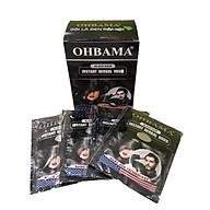 Dầu gội đầu đen tóc OHBAMA CHÍNH HÃNG giúp tóc đen mượt Hộp 10 gói thumbnail