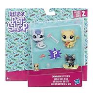 Đồ chơi mô hình Gia đình Mèo Kitty Quý Phái LITTLEST PET SHOP 3 thumbnail