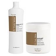 Bộ Gội xả Fanola Curly Shine (Curly & Wavy shampoo) cho tóc uốn xoăn dợn sóng Italy 1000ml thumbnail
