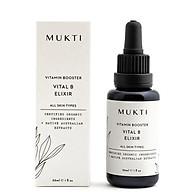 Tinh Chất Nước Thần Tăng Cường Vitamin B Tái Tạo Tổn Thương, Mờ Thâm Mụn Mukti Vital B Elixir (30ml) thumbnail