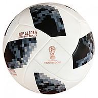 Quả bóng đá cao cấp World Cup 2018 TELSTAR số 5 (Ma u đen trắng)- Kèm kim bơm bóng thumbnail