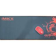 Miếng Lót Chuột, Bàn Di Chuột, Mouse Pad Cỡ lớn IMICE - Hàng Chính Hãng (KT 80x30x0.3) giao màu ngẫu nhiên thumbnail