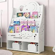 Kệ trẻ em, Kệ sách cho bé thiết kế dễ thương hình chú voi chú cún dễ thương TXT-3220 thumbnail