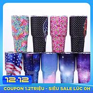 Ly Giữ Nhiệt Cao Cấp Thái Lan - Tặng kèm ống hút inox, cọ rửa, túi xách - Giao màu ngẫu nhiên thumbnail