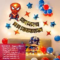Bộ phụ kiện bóng trang trí sinh nhật Happy Birthday nhiều mẫu mới 2020 thumbnail