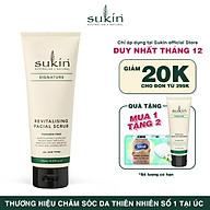 Kem tẩy tế bào chết dành cho da mặt Sukin Revitalising Facial Scrub 125ml thumbnail
