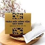 Hộp 2 Túi Lọc Xông Tắm Và Vùng Kín Sau Sinh Toàn Thân Thảo Dược Wonmom ( Liệu Trình 2 Ngày) thumbnail