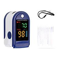 Thiết bị chăm sóc sức khỏe thông minh đo độ bão hòa nồng độ oxy trong máu và nhịp tim kẹp ngón tay nhỏ gọn, tiện lợi (Tặng kèm pin) thumbnail