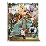 Bộ Búp Bê Emily - QJ078D - Váy Xanh Hoa thumbnail