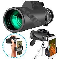 Ống Nhòm Đơn Gắn Điện Thoại Có ĐÈN Laser, ĐÈN LED tiện dụng hàng chính hãng thumbnail