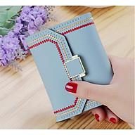 Ví nữ cầm tay da đẹp nhỏ gọn nhiều ngăn tiện dụng TK0053 thumbnail