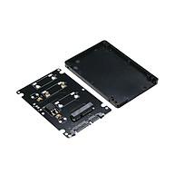 Adapter Chuyển Đổi SSD mSATA To SATA iii 2.5 inch (Đen) thumbnail