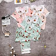 Mẫu Hot 2021Đồ Bộ Pijama Tiểu Thư Lụa Latin Cao Cấp Chất Vải Mềm Mịn Hàng Thiết Kế thumbnail