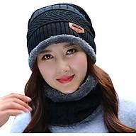 ComBo Mũ Len Kèm Khăn Cổ Hàn Quốc thumbnail