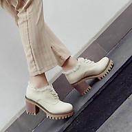 Giày boot nữ cổ thấp cao cấp thumbnail