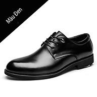 Giày da nam giám đốc, giày doanh nhân, giày nam cổ điển mũi tròn - Mã 36578 thumbnail