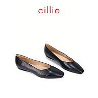 Giày búp bê nữ mũi vuông da rắn Cillie 1224 thumbnail
