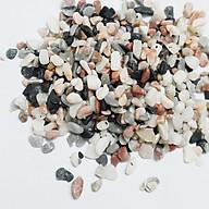 Sỏi nhiều màu cỡ nhỏ trang trí chậu cá sân vườn tiểu cảnh chậu trồng cây thumbnail