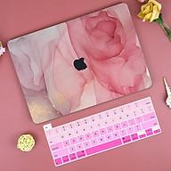 Ốp case dành cho macbook kèm tấm phủ bàn phím silicon - Hàng chính hãng thumbnail