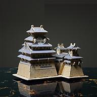 Đồ chơi lắp ráp gỗ 3D Mô hình Lâu Đài Himeji thumbnail