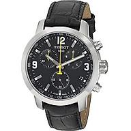 Tissot Mens PRC 200 Swiss Quartz Stainless Steel Sport Watch (Model T0554171605700) thumbnail