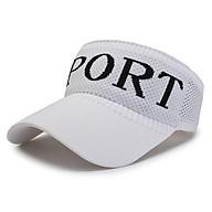 Mũ lưỡi trai nửa đầu Nón kết thể thao Sport vải len phong cách thời trang thể thao thumbnail