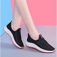 Giày Thể Thao Nữ Vải Cao Cấp 3Fashion Nhẹ Êm Chân Thích Hợp Đi Công Việc, Du Lịch, Vận Động - 3215 thumbnail