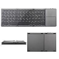Bàn phím bluetooth 4.0 có bàn di chuột cho laptop điện thoại máy tính bảng thumbnail