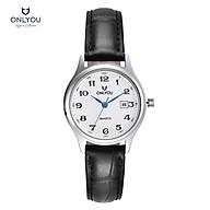 Đồng hồ Onlyou Nữ U1009LA Dây Da 30mm thumbnail