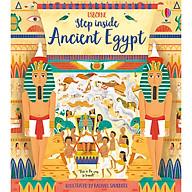 Sách Usborne Step Inside Ancient Egypt thumbnail
