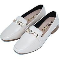 Giày lười nữ loafer mũi vuông đế cao 3P Rozalo R5912 thumbnail