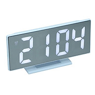 12h 22h & C F Digital Mirror Alarm Clock LED Display USB Table Clocks 1 thumbnail