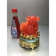 Tỳ Hưu phong thuỷ đế kính xoay 360 độ ( tặng kèm chai nước thơm rửa đồ thờ ) KH 12704 thumbnail